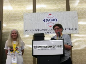 Perry Barber and Leslie Heaphy
